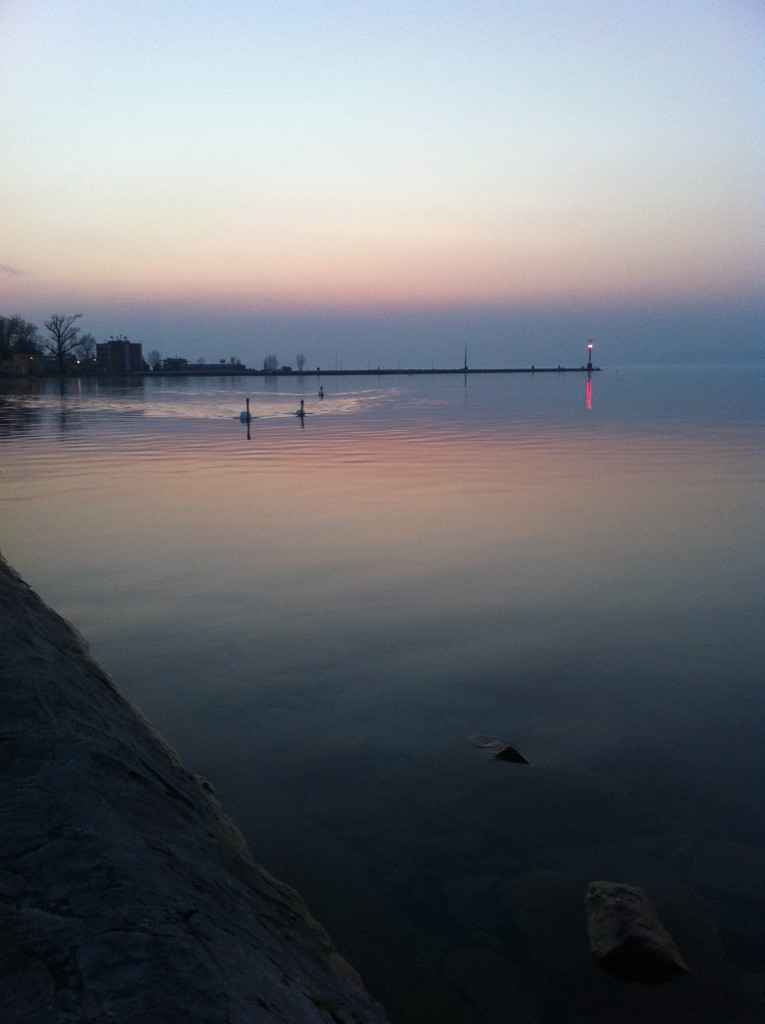 Siofok - Lake Balaton at Sunset