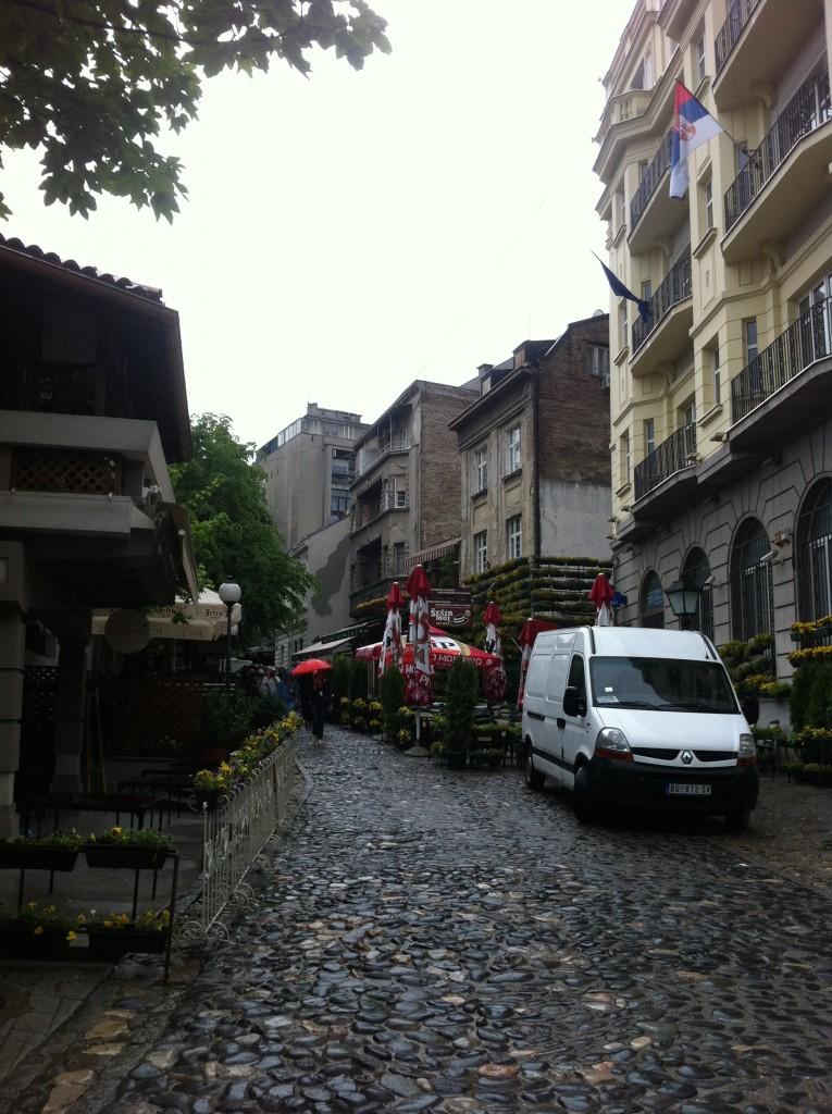 A street in Belgrade