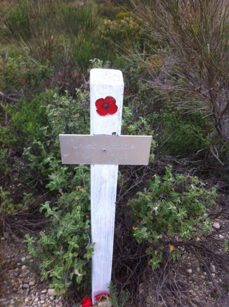 A cross for an unknown soldier, Gallipoli