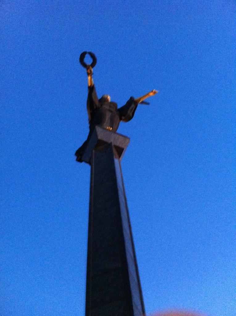 A statue in Sofia