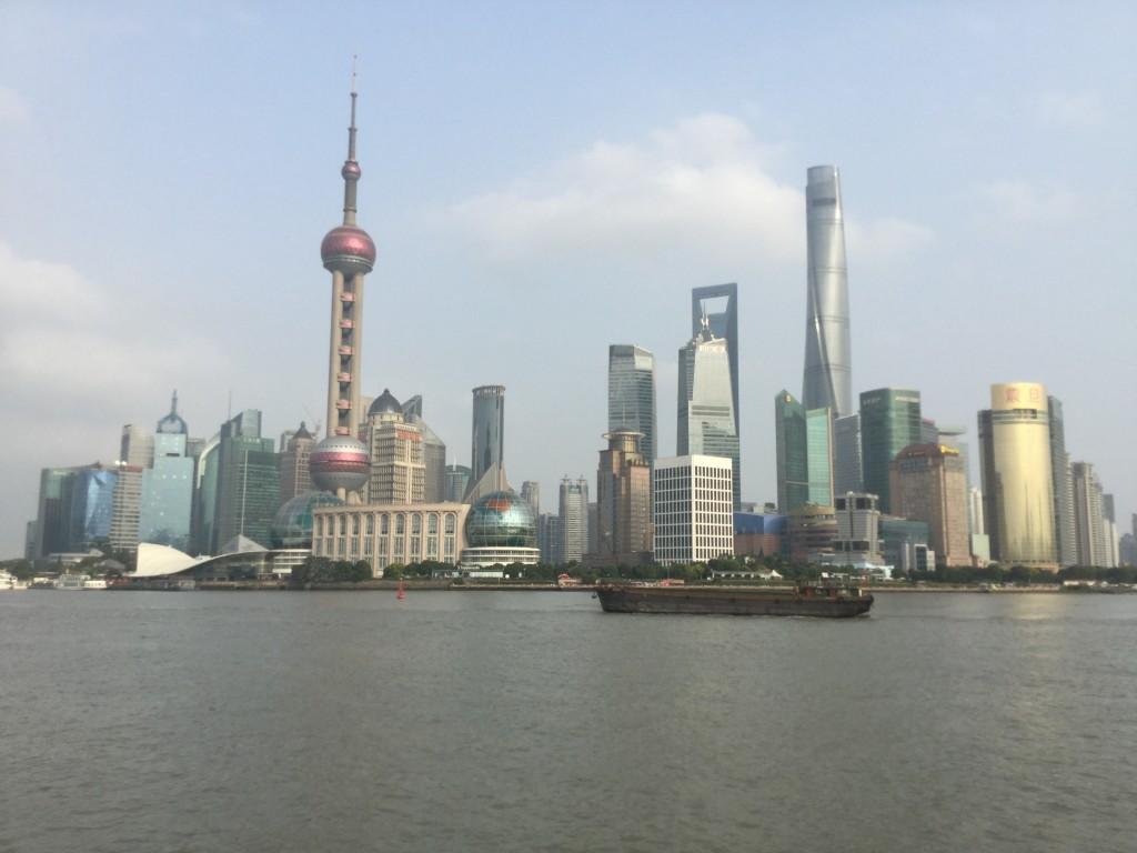 View from The Bund, Shanghai
