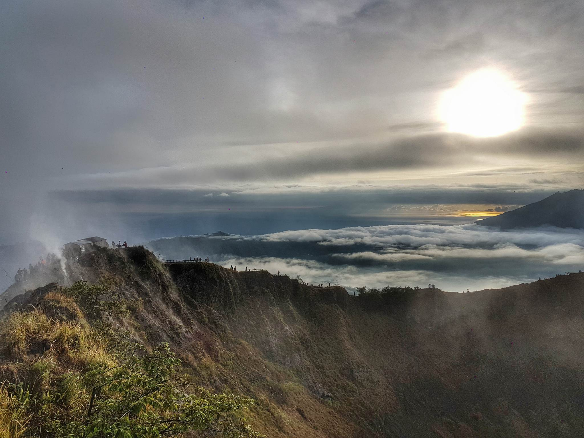 The Volcano at Dawn – Trekking Bali's Mount Batur
