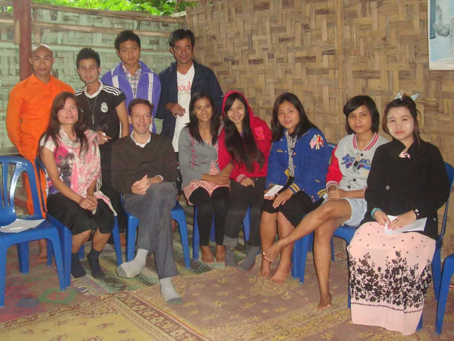 Making Merit at a Burmese Refugee Camp