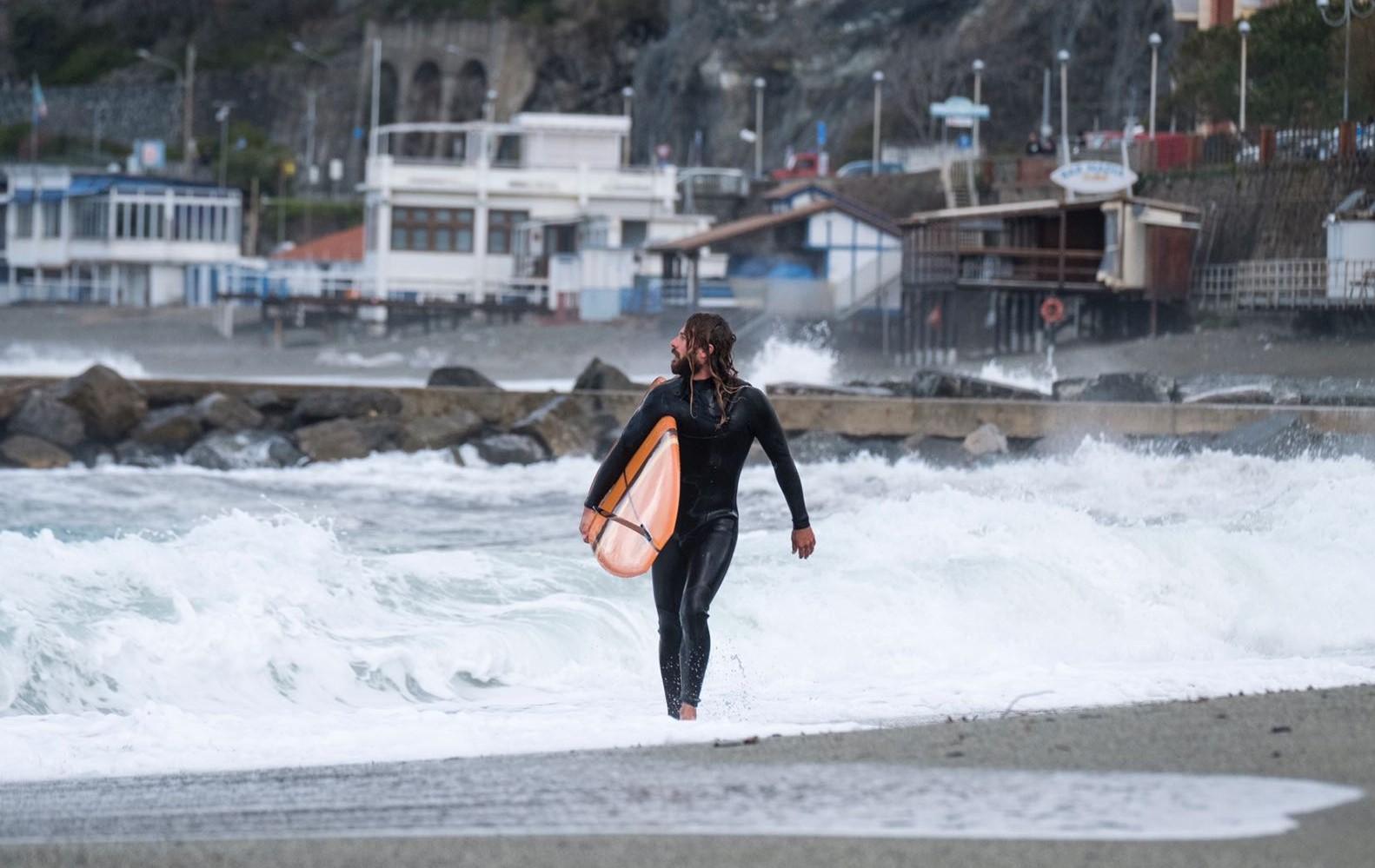 Surfing the Mediterranean